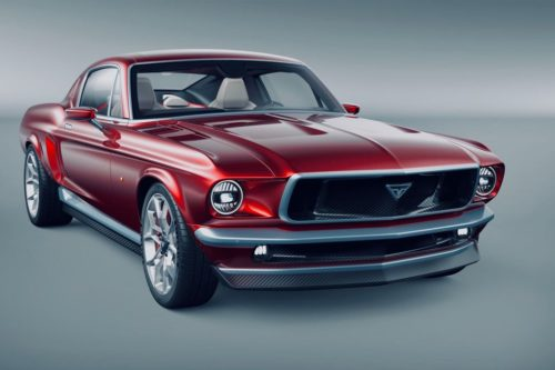This Gorgeous Vintage Mustang? It's All-Electric, and Based on a Tesla