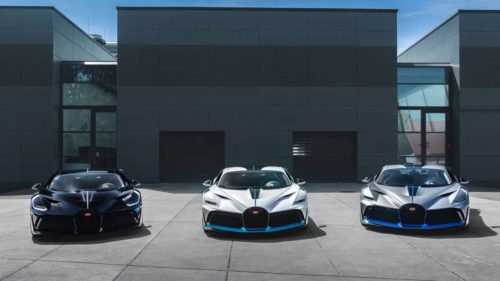 The Bugatti Divo is ready for delivery