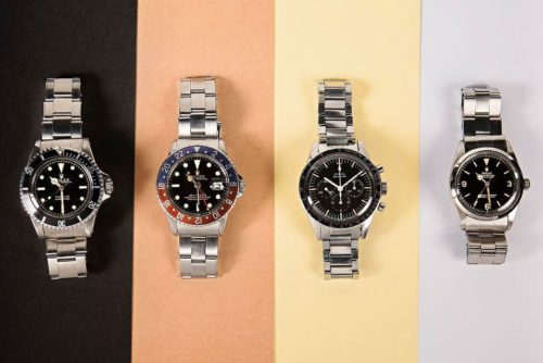 Legendary Rolex and Omega Watches Are Available at Auction