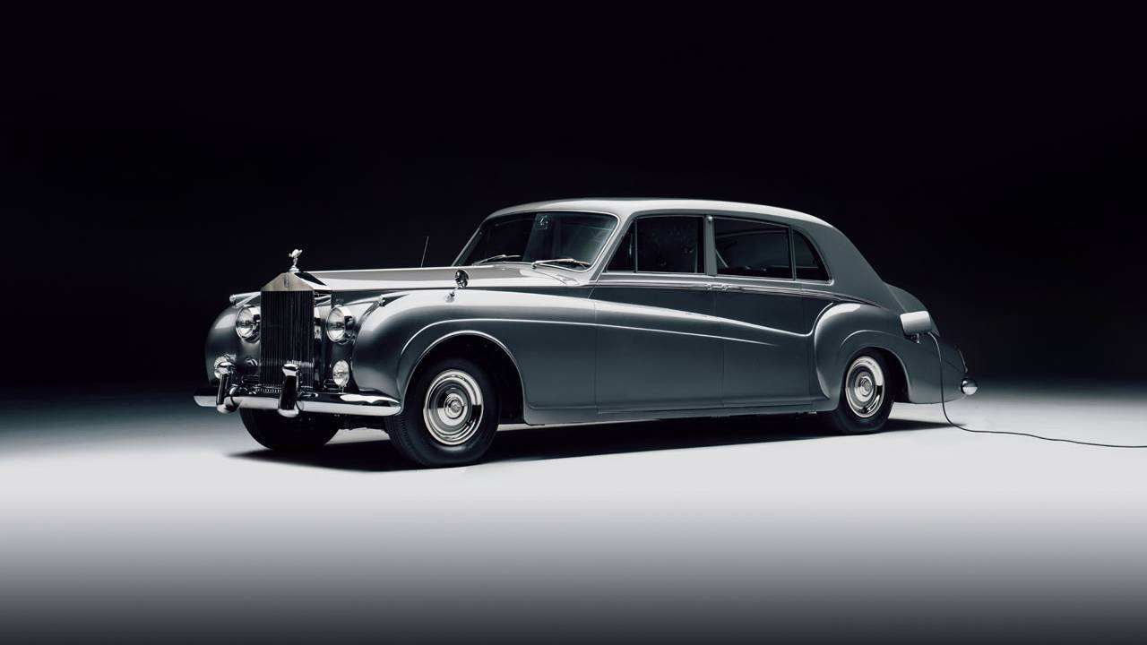 Lunaz offers gorgeous electrified classic Rolls-Royce cars