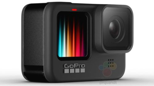GoPro HERO 9 Black might come with a color front display