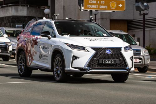 Lexus leads connected car test