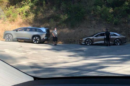 Lucid SUV revealed