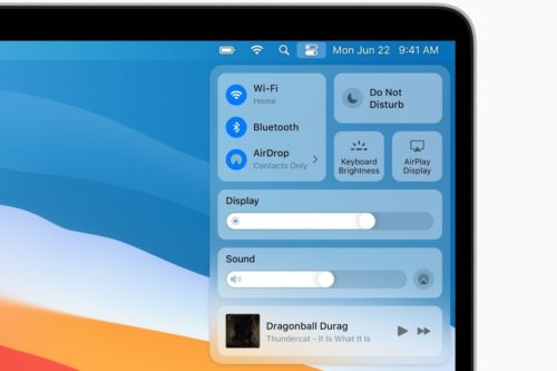 macOS Big Sur: Learn about the user interface changes