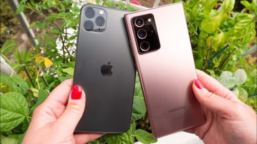 Galaxy Note 20 Ultra vs iPhone 11 Pro Max: Camera shootout