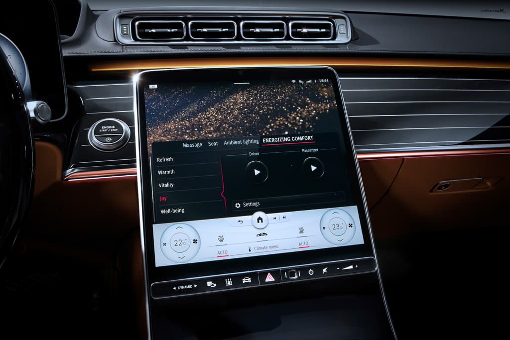 New Mercedes-Benz S-Class: Top five interior wow-factors