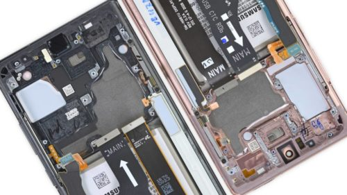 Galaxy Note 20's different cooling systems is not a problem, says iFixit
