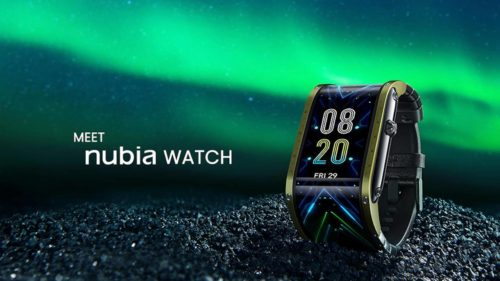 Nubia Watch and its flexible screen meets Kickstarter goal in an hour