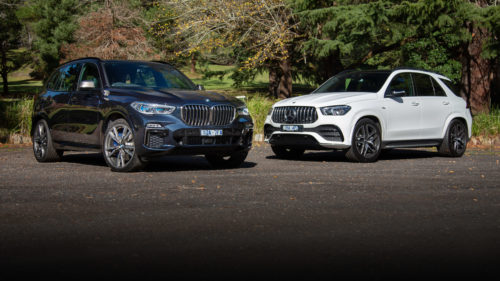 2020 BMW X5 M50i v Mercedes-AMG GLE53 comparison