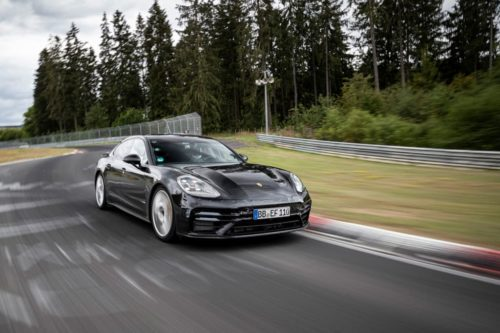 2021 Porsche Panamera sets record at Nurburgring