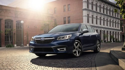 2021 Subaru Legacy starts at $23,820 while the Outback is at $27,845