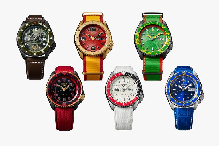 Seiko's Wild New Street Fighter Watches Pack a Colorful Punch