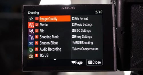 Confirmed: New Menu on Sony a7S III not Coming to Older Cameras