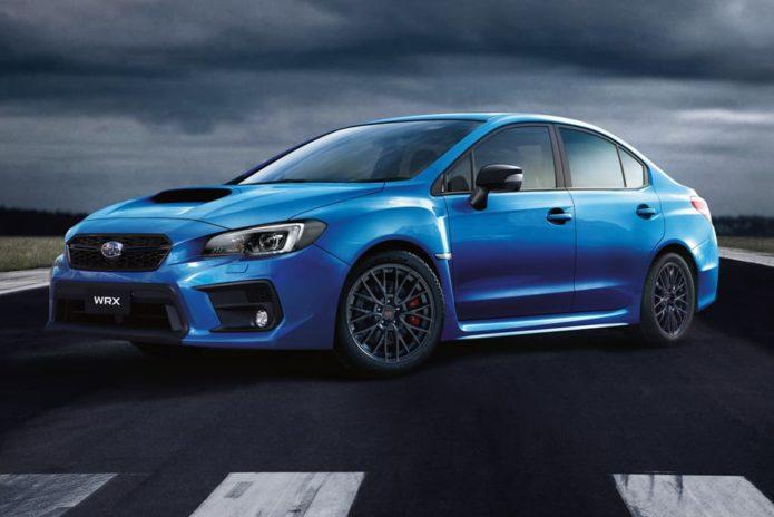 New Subaru WRX Club Spec arrives