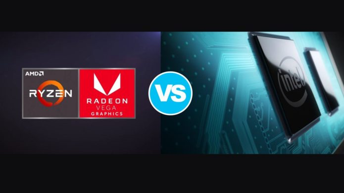 AMD Radeon RX Vega 5 (Renoir C4) vs Intel UHD Graphics G1 – the RX Vega 5 is 27% faster and comes at a lower price