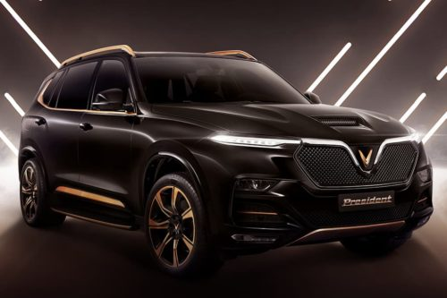 VinFast President V8 SUV revealed