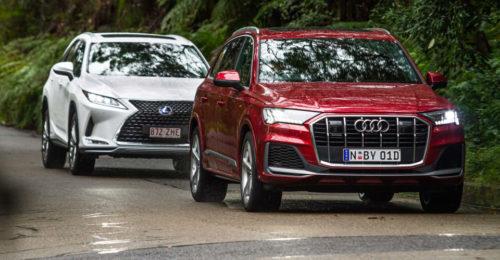 Large luxury SUV review: 2020 Audi Q7 50TDI v Lexus RX450hL comparison