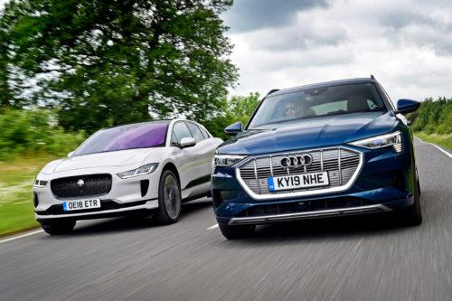 Audi E-Tron vs. Jaguar I-Pace