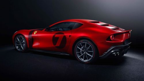 This Ferrari Omologata is a one-off creation based on the 812 Superfast