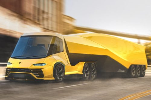Lamborghini super-truck looks sharp