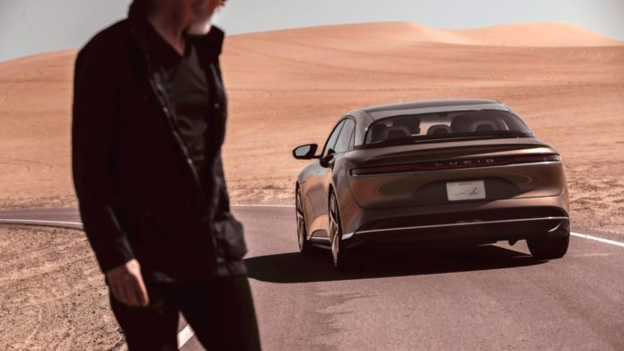 Lucid Motors' design chief explains the electric Air's toughest challenge