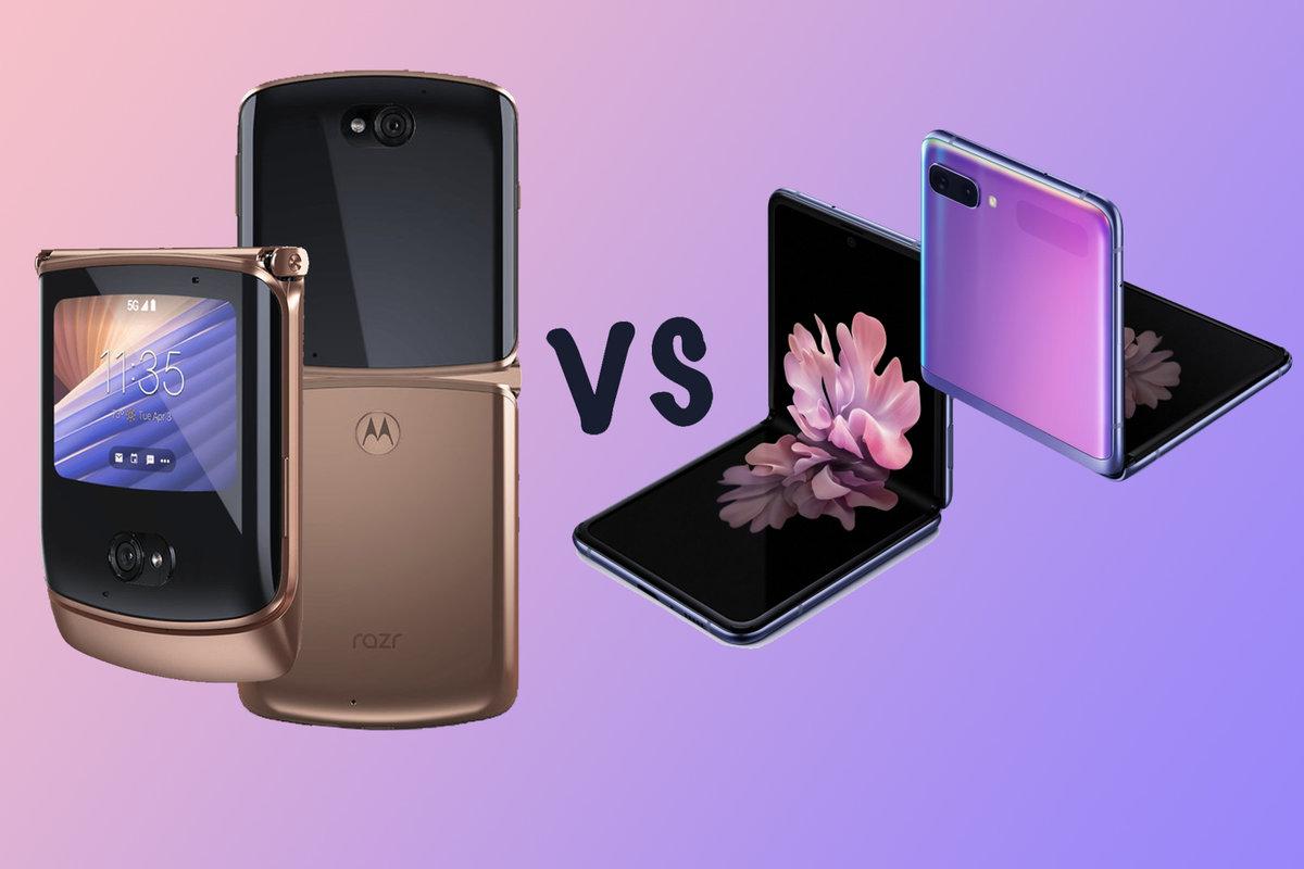 Motorola Moto Razr 5G vs Samsung Galaxy Z Flip 5G