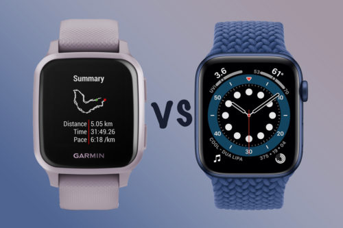 Garmin Venu Sq vs Apple Watch: Which should you buy?
