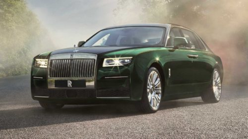 2021 Rolls-Royce Ghost Extended Revealed With Stellar Rear Legroom
