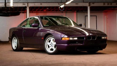 This incredibly rare 1995 BMW 850CSi could be yours