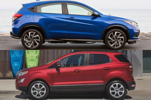 2020 Honda HR-V vs. 2020 Ford EcoSport: Which Is Better?