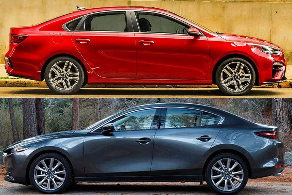 2020 Kia Forte vs. 2020 Mazda3: Which Is Better?