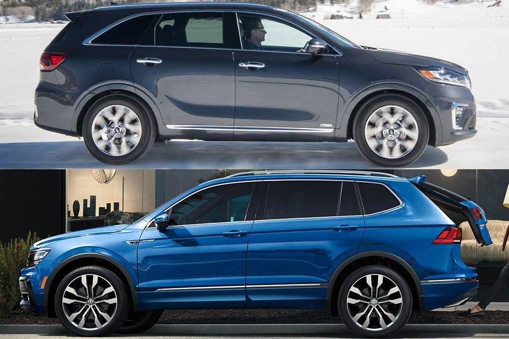 2020 Kia Sorento vs. 2020 Volkswagen Tiguan: Which Is Better?