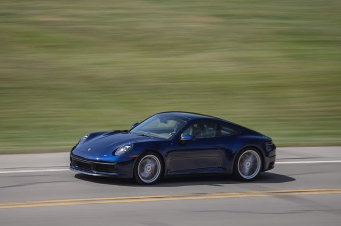 Tested: 2020 Porsche 911 Carrera 4S Manual Fills a Narrow Niche