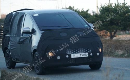 2021 Hyundai iMax people-mover, iLoad van spied in testing