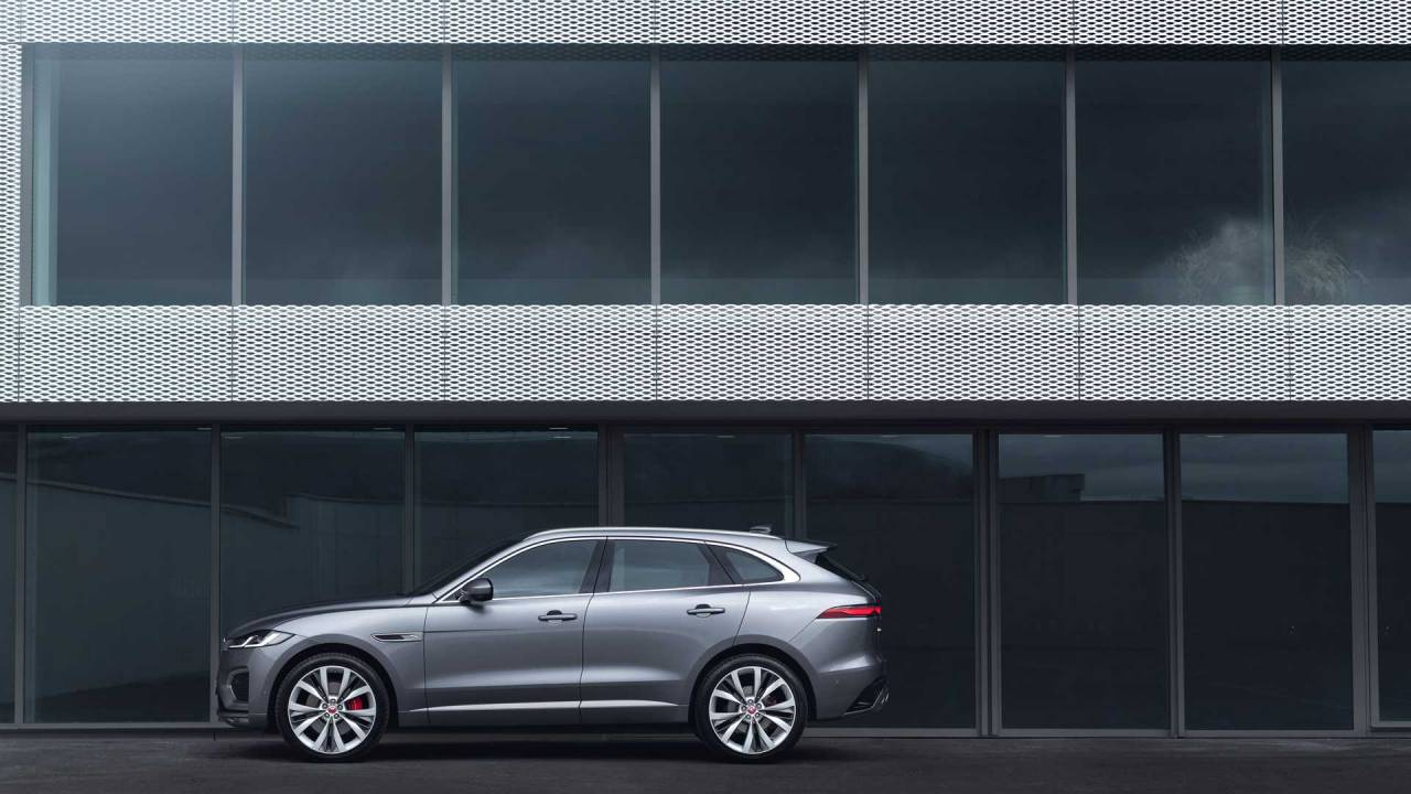 2021 Jaguar F-Pace debuts cleaner styling and refreshed interior