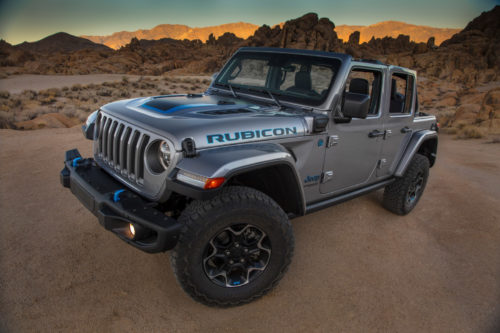 2021 Jeep Wrangler 4xe PHEV: First Look