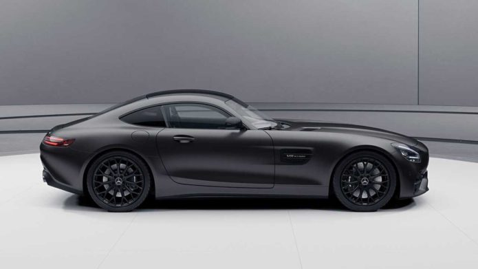 2021 Mercedes-AMG GT receives more power, new Stealth Edition also available