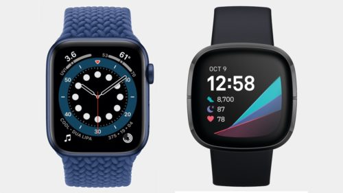 Apple Watch Series 6 v Fitbit Sense: battle of the health watches