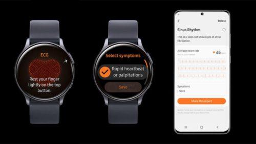 Samsung Galaxy Watch models get ECG feature