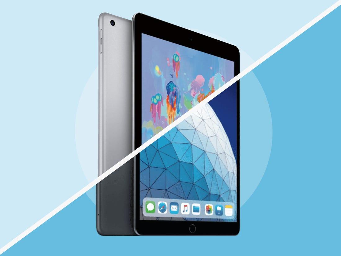 iPad Air (2020) vs iPad 10.2 (2020): Apple's tablets ...