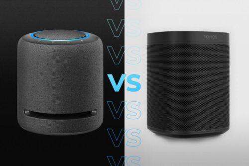 Amazon Echo Studio vs Sonos One: Alexa, what should I buy?