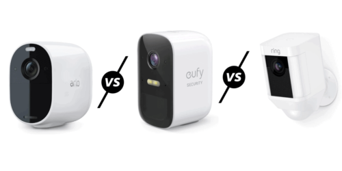 Arlo Essential Spotlight Camera vs Eufy 2C vs Ring Spotlight Cam