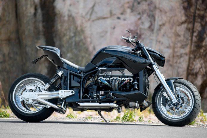 BEE-ONE CYCLES BOMB BOSS: V8 CUSTOM MOTORCYCLE