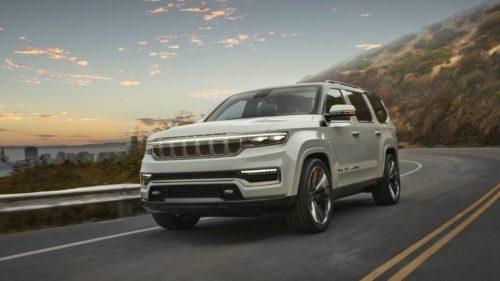 Jeep Grand Wagoneer concept teases three-row luxury hybrid SUV