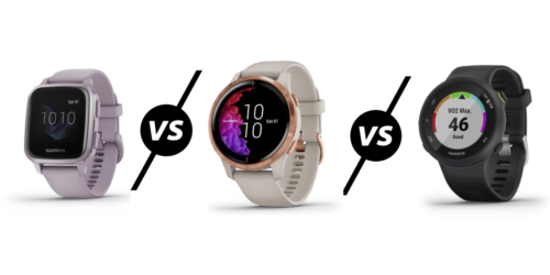 Garmin Venu SQ vs Venu vs Forerunner 45 Compared