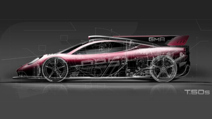 """The GMA T.50 hypercar now has an even more """"astonishing"""" version"""