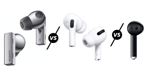 Huawei FreeBuds Pro vs Freebuds 3 & 3i vs Apple AirPods Pro