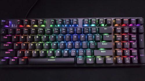 VictSing PC259A mechanical gaming keyboard review