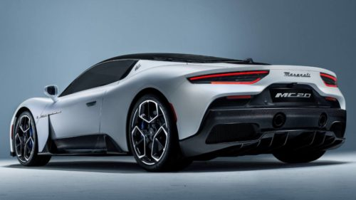 Maserati MC20 Unofficial Renderings Show Off Sleek Spider Variant