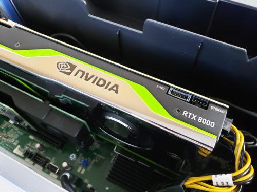Dual NVIDIA Quadro RTX 8000 Review